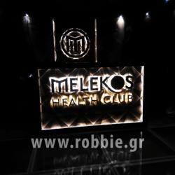 MELEKOS HEALTH CLUB / Σήμανση καταστήματος 15
