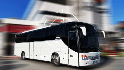 Hellenic Coaches / Βαφή λεωφορείου 1