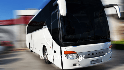 Hellenic Coaches / Βαφή λεωφορείου 2