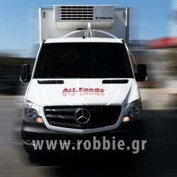 Art foods - Hellmann's / Σήμανση οχημάτων 2
