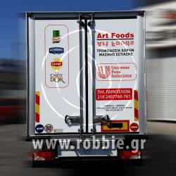 Art foods - Hellmann's / Σήμανση οχημάτων 4