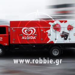 Algida Love Milk / Σήμανση οχημάτων 1