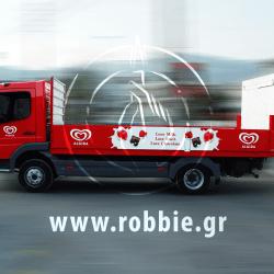 Algida Love Milk / Σήμανση οχημάτων 12