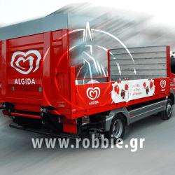 Algida Love Milk / Σήμανση οχημάτων 14