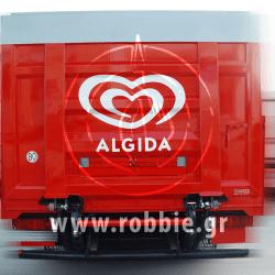 Algida Love Milk / Σήμανση οχημάτων 15