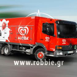 Algida Love Milk / Σήμανση οχημάτων 16
