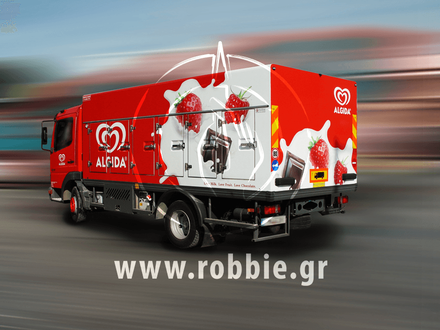 Algida Love Milk / Σήμανση οχημάτων 17