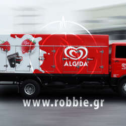 Algida Love Milk / Σήμανση οχημάτων 2