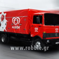 Algida Love Milk / Σήμανση οχημάτων 3