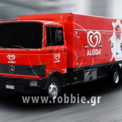 Algida Love Milk / Σήμανση οχημάτων 5
