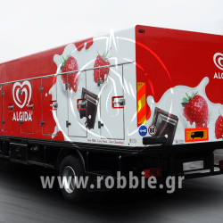 Algida Love Milk / Σήμανση οχημάτων 6