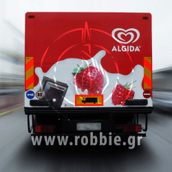 Algida Love Milk / Σήμανση οχημάτων 7