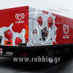Algida Love Milk / Σήμανση οχημάτων 8