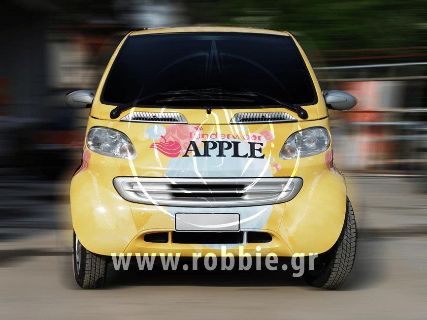 Funderwear Apple / Σήμανση οχημάτων 3