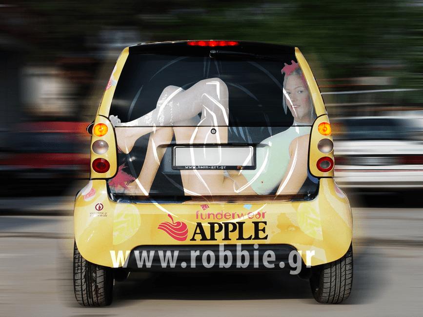 Funderwear Apple / Σήμανση οχημάτων 1