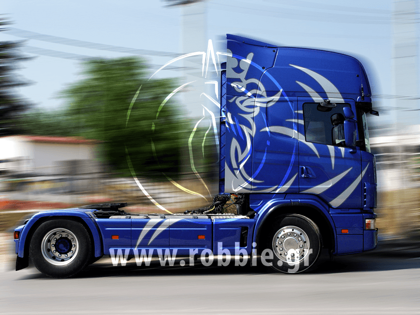OKIALOS / Βαφή φορτηγού 3