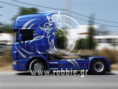 OKIALOS / Βαφή φορτηγού 1