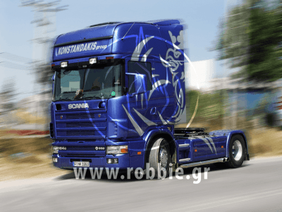 OKIALOS / Βαφή φορτηγού 2