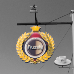 Fruzaty Cafe / Επιγραφή 4