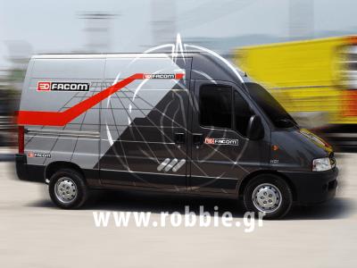 Facom / Σήμανση οχημάτων 1