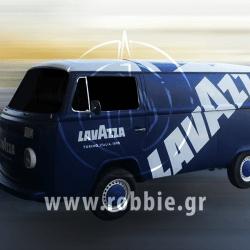 Smart Moving Media - Lavazza / Προωθητικές κατασκευές 1