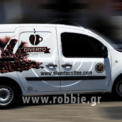 Diverto Coffee / Σήμανση οχημάτων 1