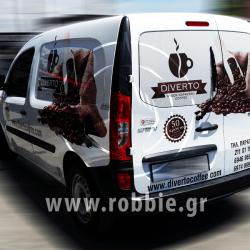 Diverto Coffee / Σήμανση οχημάτων 4