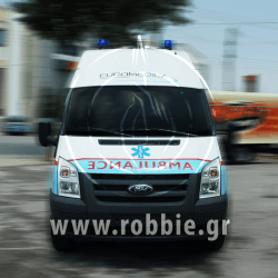 EUROMEDICA - Ασθενοφόρο / Σήμανση οχημάτων 1
