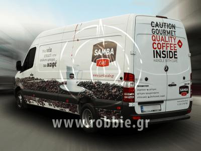 Samba Cafe / Σήμανση οχημάτων 2