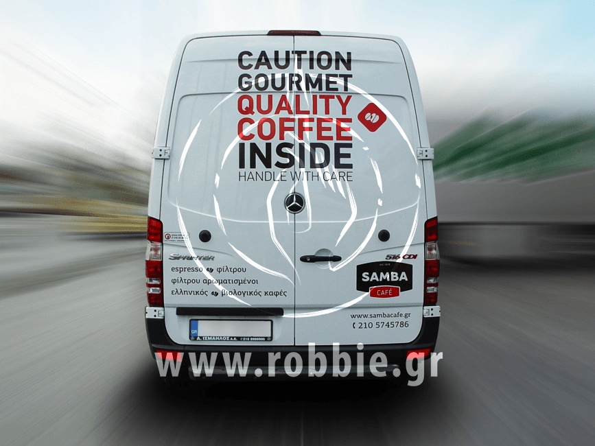 Samba Cafe / Σήμανση οχημάτων 3
