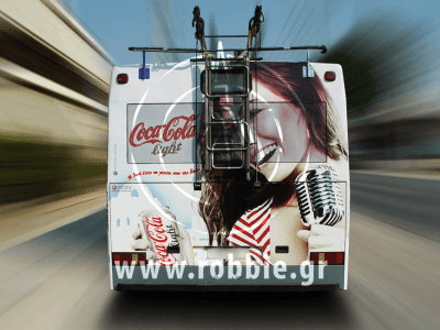 Coca Cola Light / Trolley 3