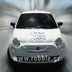 DOVE MEN+CARE / Σήμανση οχημάτων 3