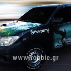 Husqvarna / Σήμανση οχηματών 3