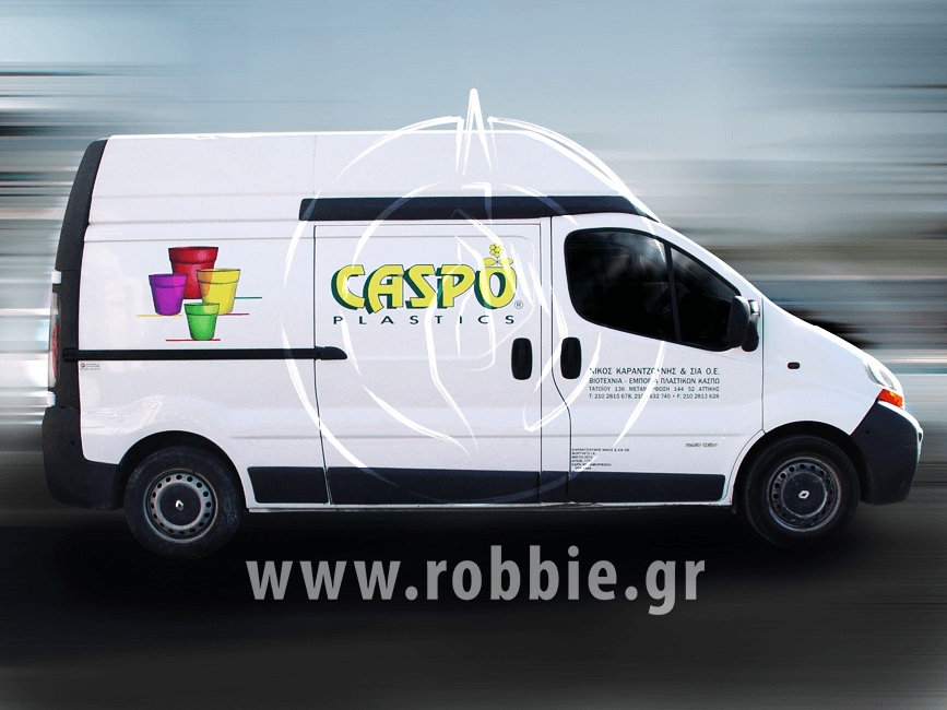 Caspo Plastics / Σήμανση οχημάτων 4