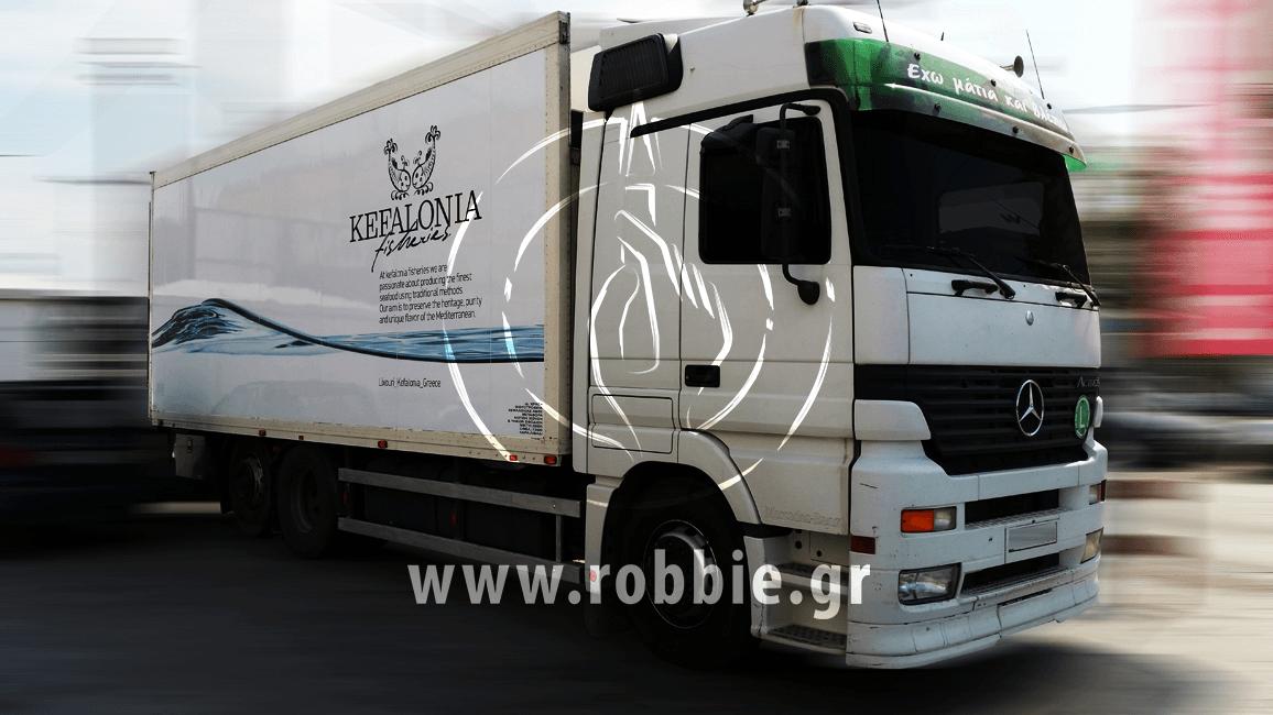 Kefalonia Fisheries / Σήμανση οχημάτων 4