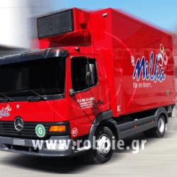 Milka / Σήμανση οχημάτων 1