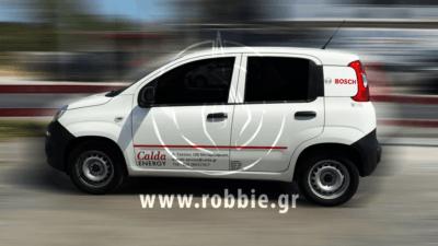 Calda Energy / Σήμανση οχημάτων 1