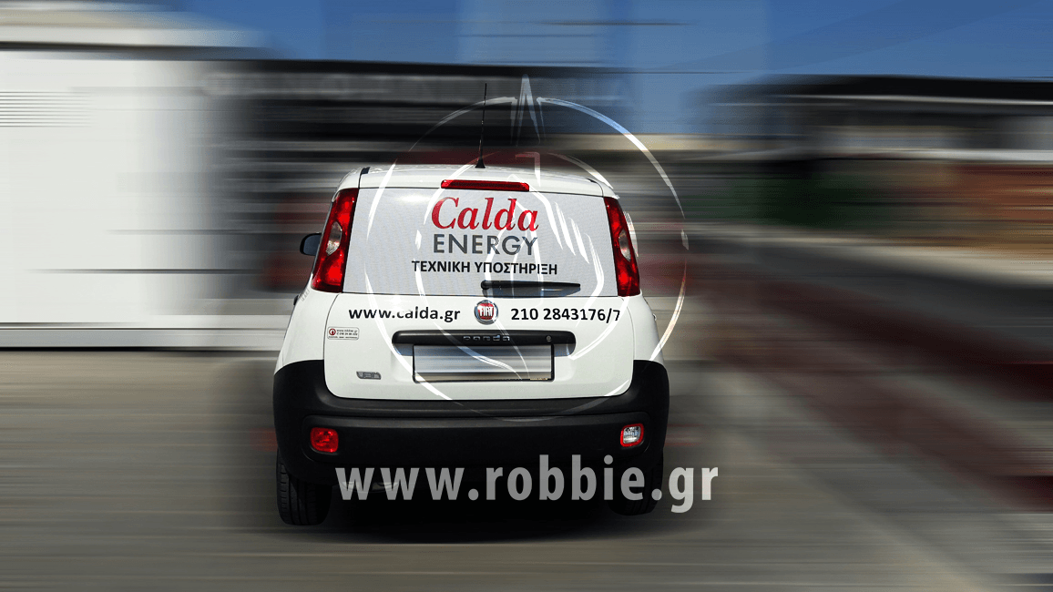 Calda Energy / Σήμανση οχημάτων 2