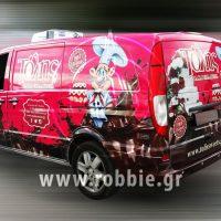 Tolis Sweets Van / Σήμανση οχημάτων 6