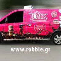Tolis Sweets Van / Σήμανση οχημάτων 3