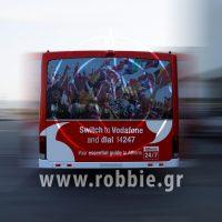 Vodafone Αεροδρόμιο / Σήμανση Λεωοφορείου 8