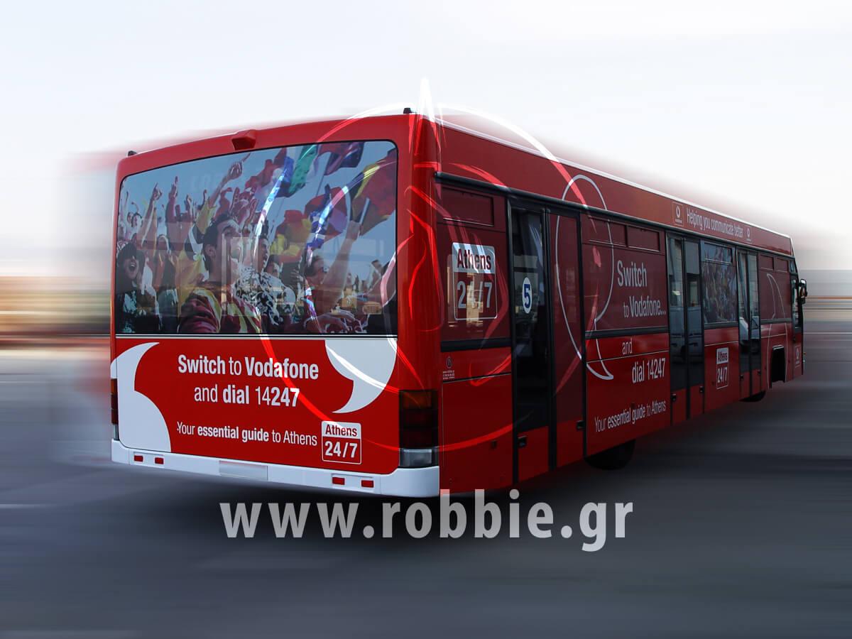 Vodafone Αεροδρόμιο / Σήμανση Λεωοφορείου 9