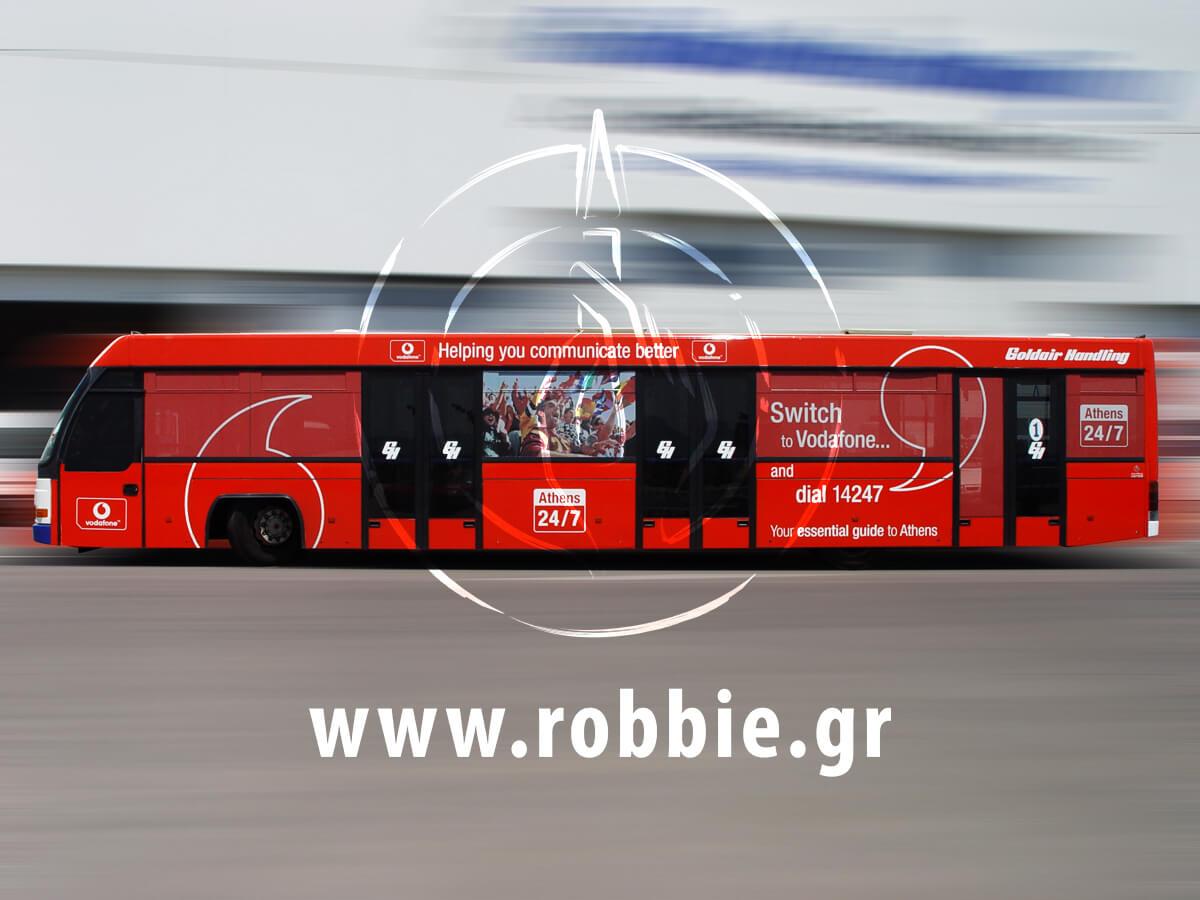 Vodafone Αεροδρόμιο / Σήμανση Λεωοφορείου 10