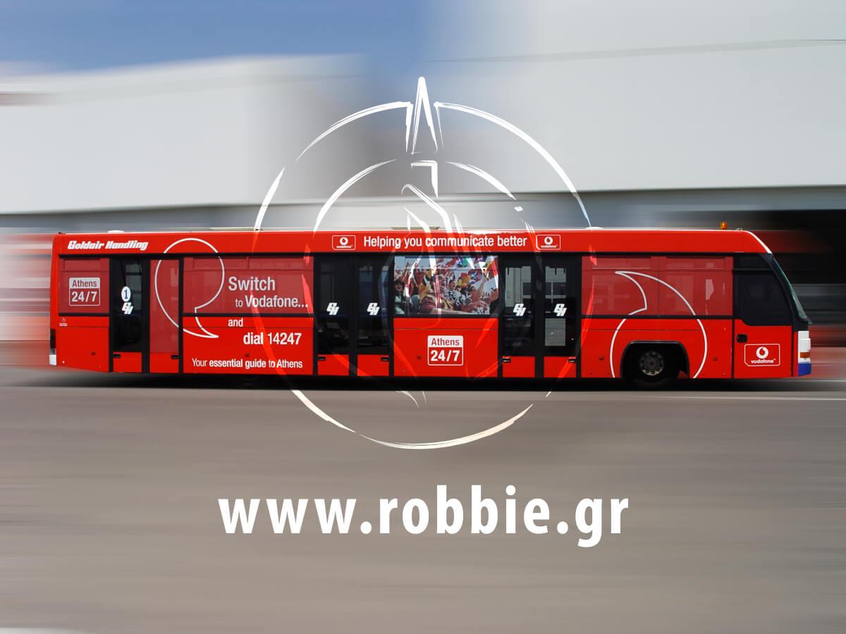 Vodafone Αεροδρόμιο / Σήμανση Λεωοφορείου 11