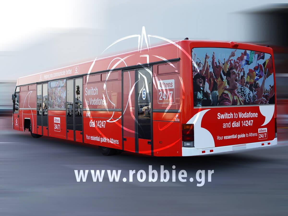 Vodafone Αεροδρόμιο / Σήμανση Λεωοφορείου 7