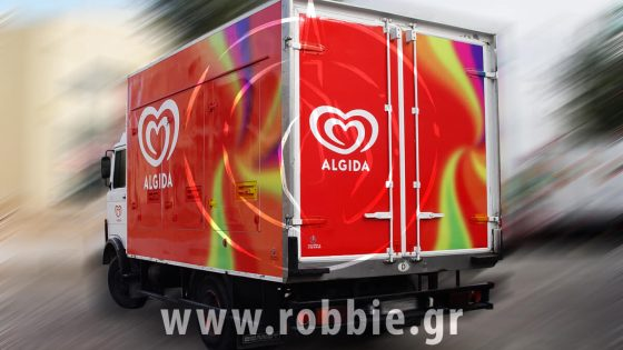 Algida Swirl / Σήμανση οχημάτων 1