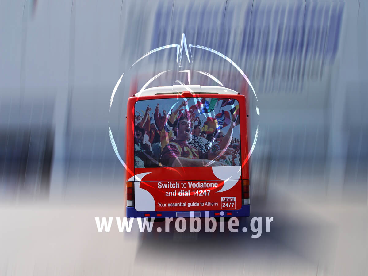 Vodafone Αεροδρόμιο / Σήμανση Λεωφορείου 2