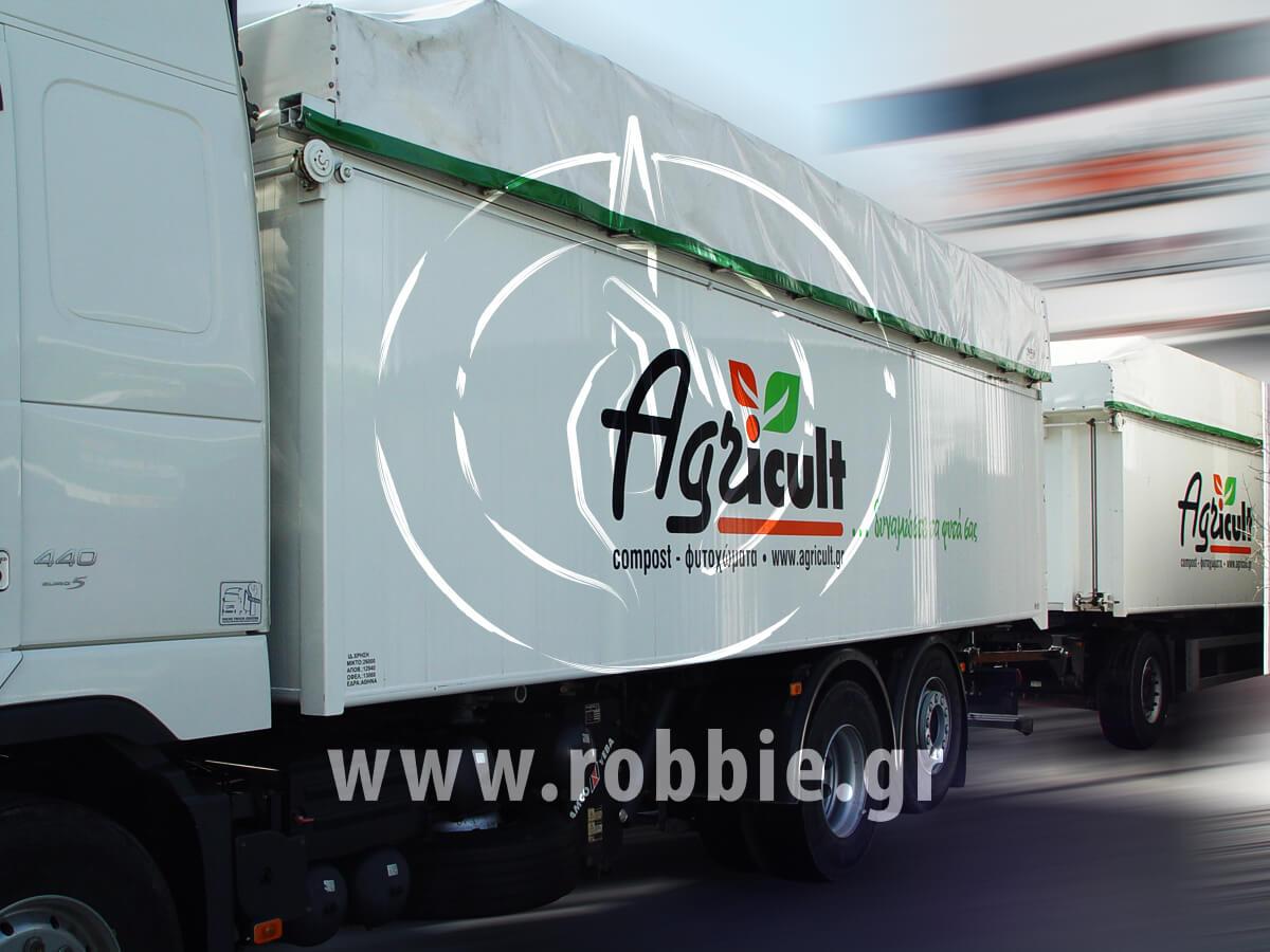 Agricult - Μουσαμάδες φορτηγών / Σήμανση οχημάτων 3