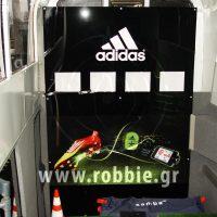 Smart Moving Media - Adidas /  Προωθητικές κατασκευές 13