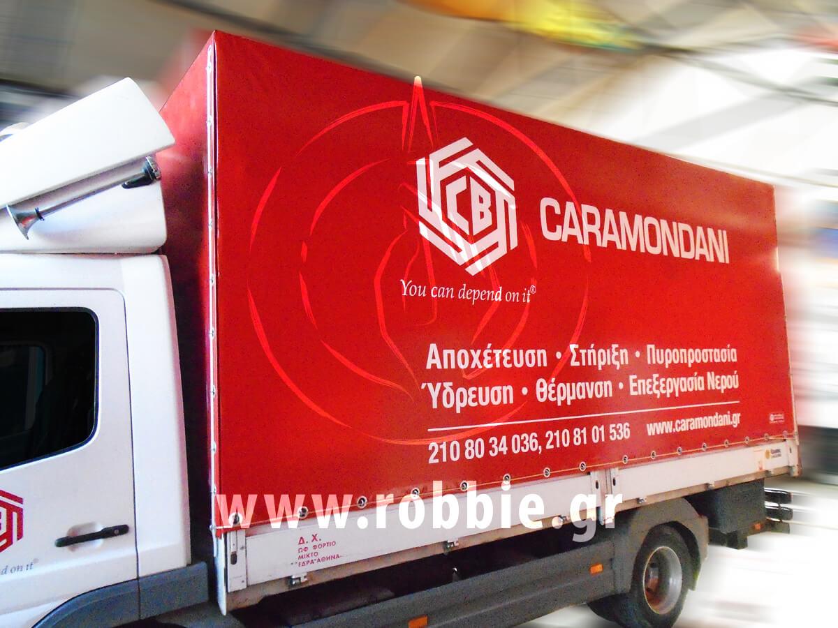 Caramondani / Μουσαμάδες φορτηγών 1